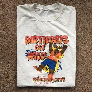 Vintage Wisconsin Dells Birthday T-shirt